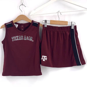 Texas A&M Cheer Outfit 4T